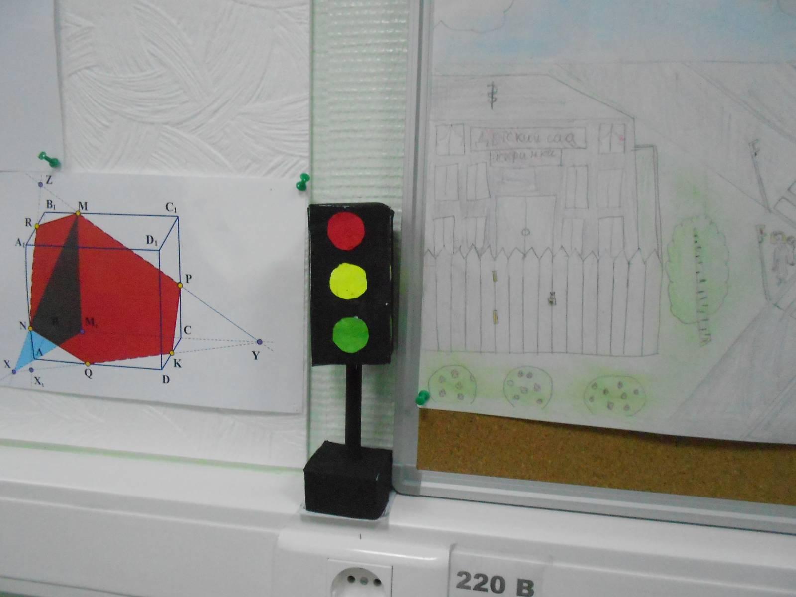 Поделка светофор своими руками - Поделки своими руками 73